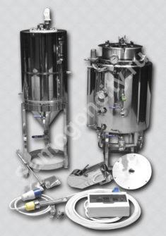 Пивоварня 65 литров ПВК Поилец с HERMS + ЦКТ