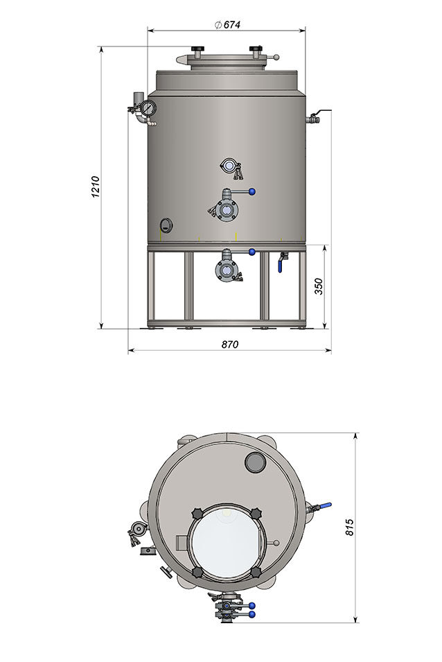 ПВК 180 литров премиум