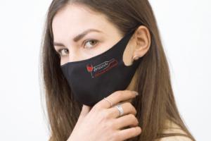 брендированная маска