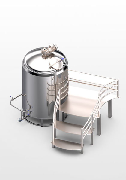 котел для разваривания зерна